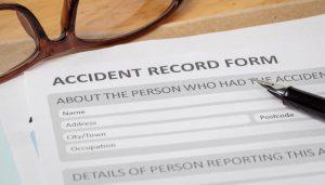 accident injury report