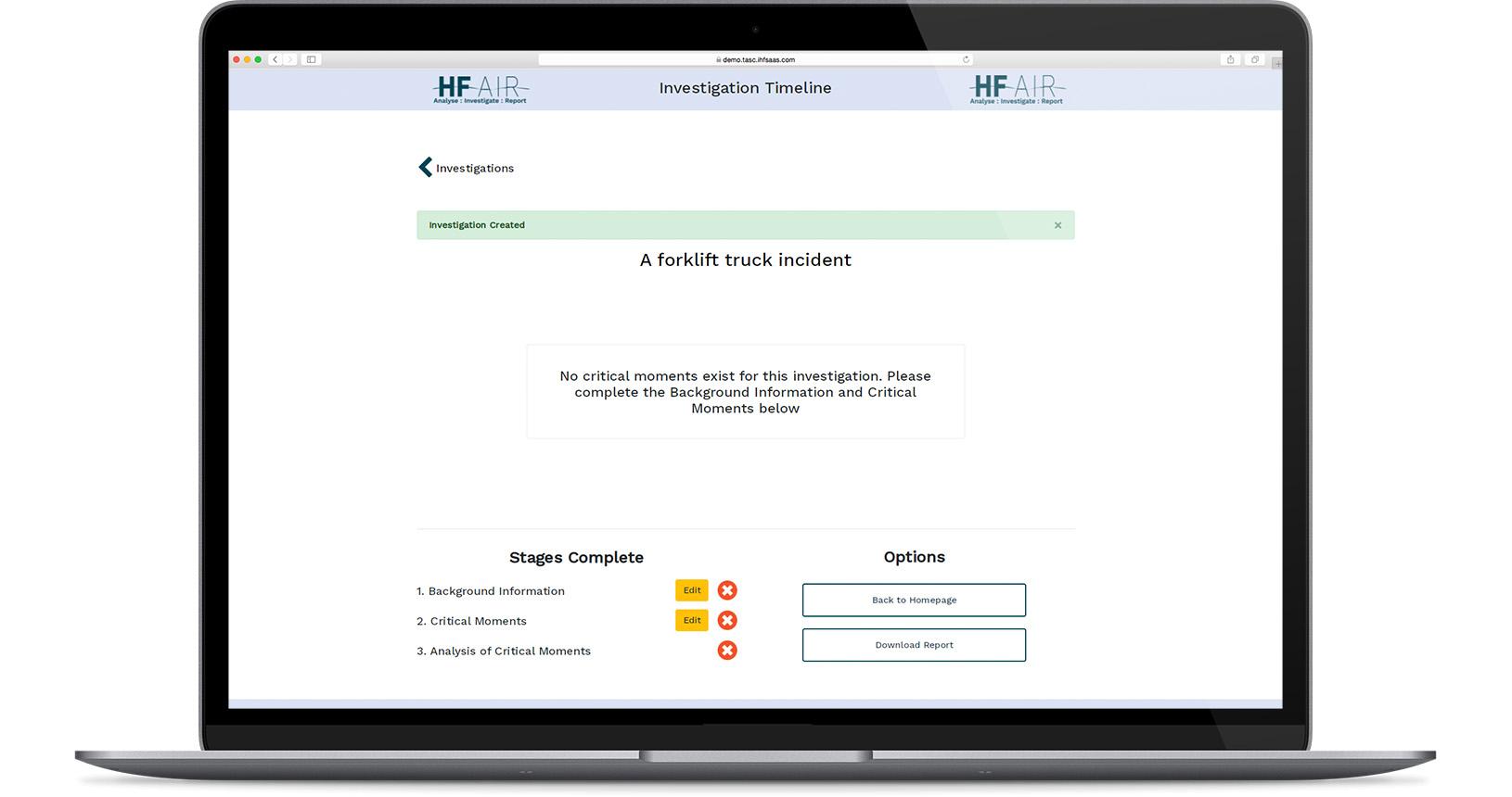 Forklift Truck Incident