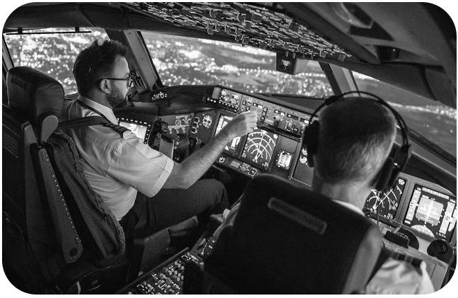 Pilot-in-plane